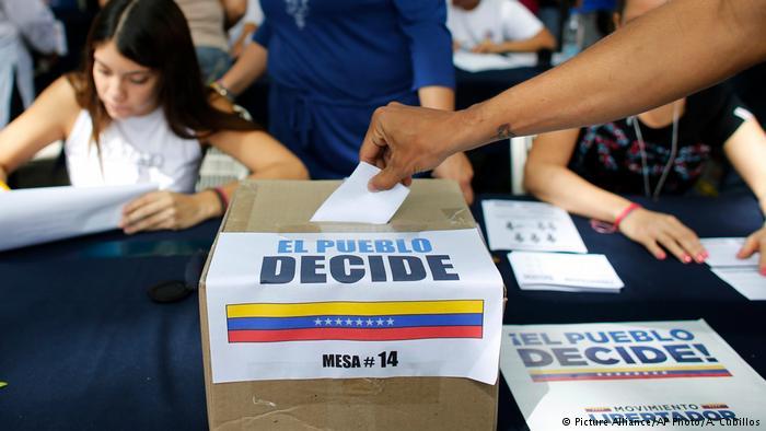 Referéndum opositor en Venezuela