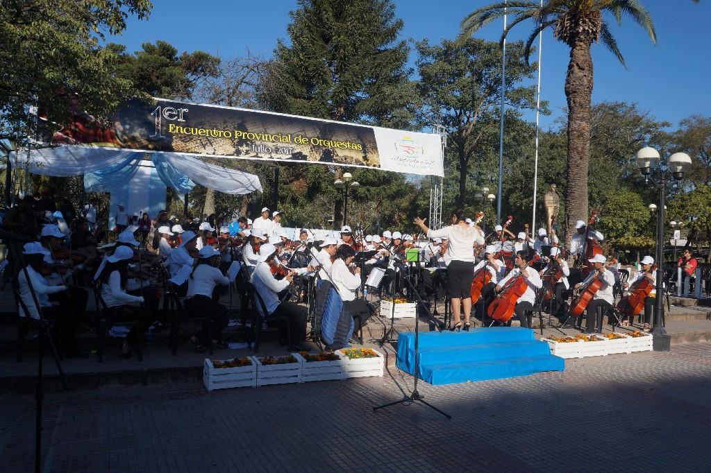 San Pedro se sumó al 1er Encuentro Provincial de Orquestas 2017