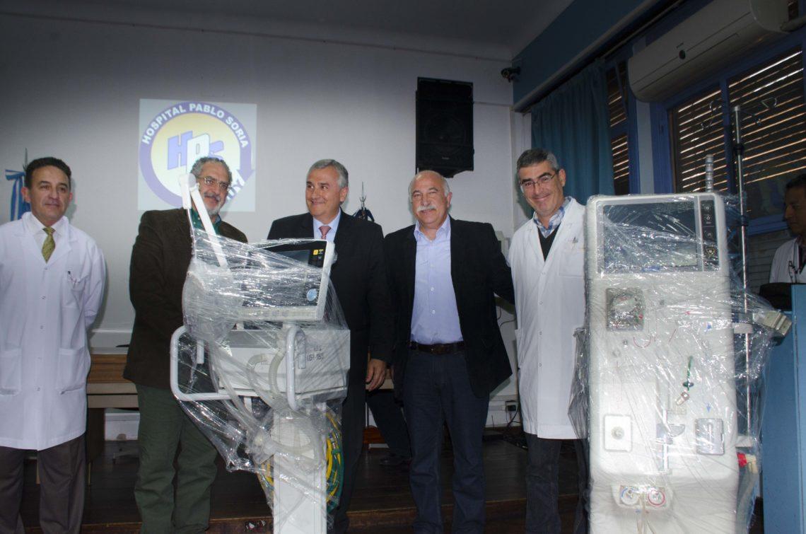 """El """"Pablo Soria"""" cuenta con nuevo equipamiento"""