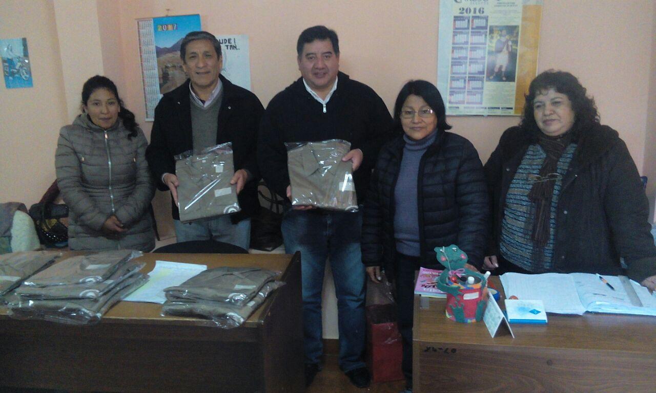 Perico invirtió medio millón de pesos para tener su propia Fábrica de Indumentaria