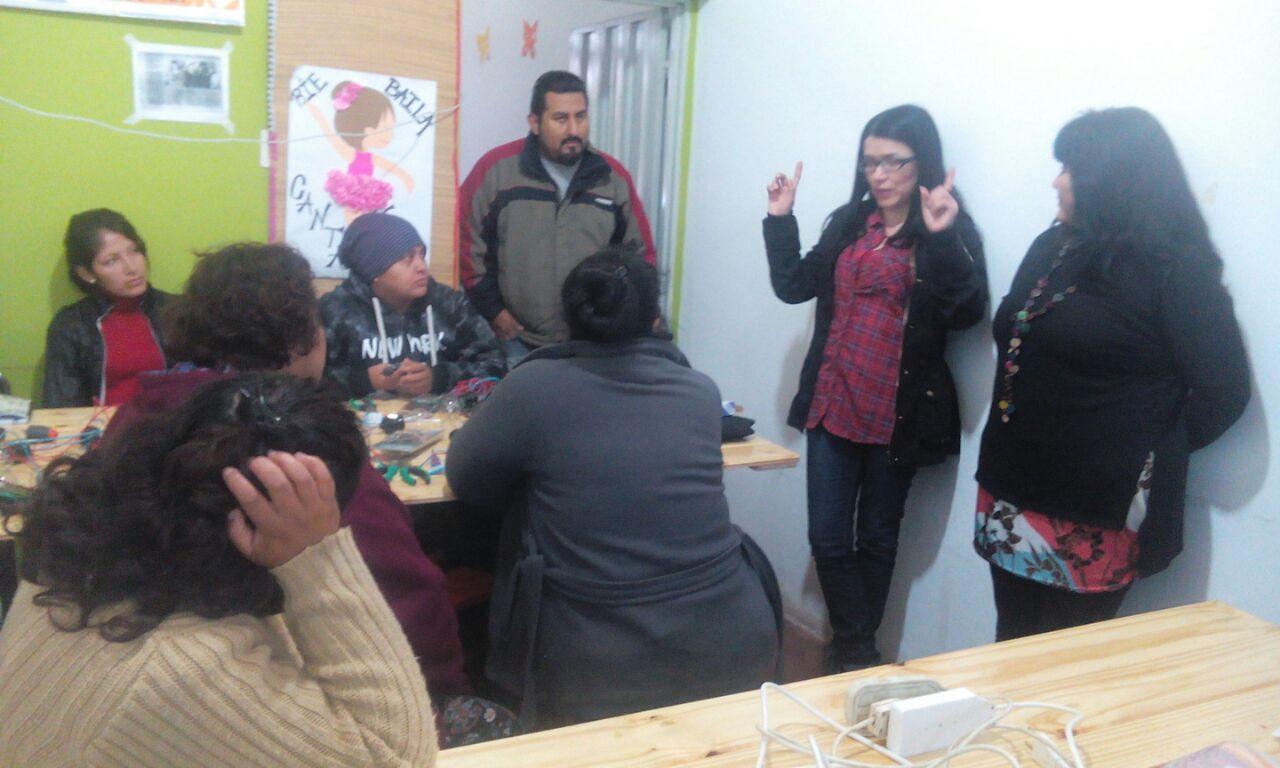 Rosaura Valero de la Asociación Conciencia visitó Perico