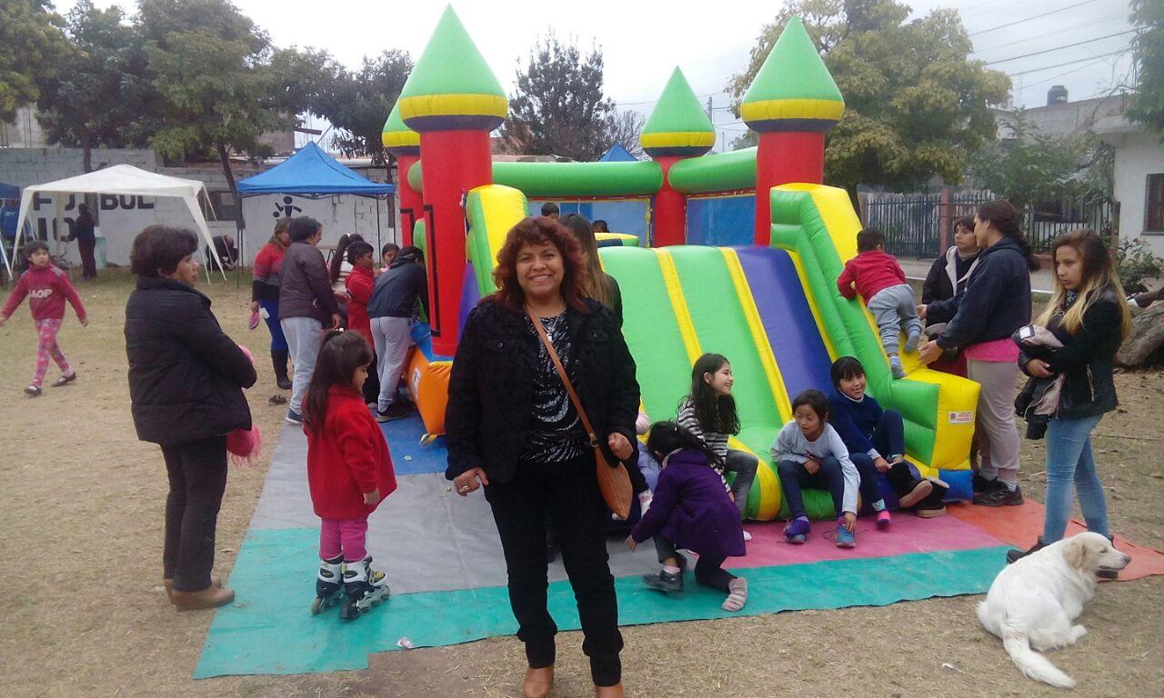 Festejos infantiles en el día de La Independencia