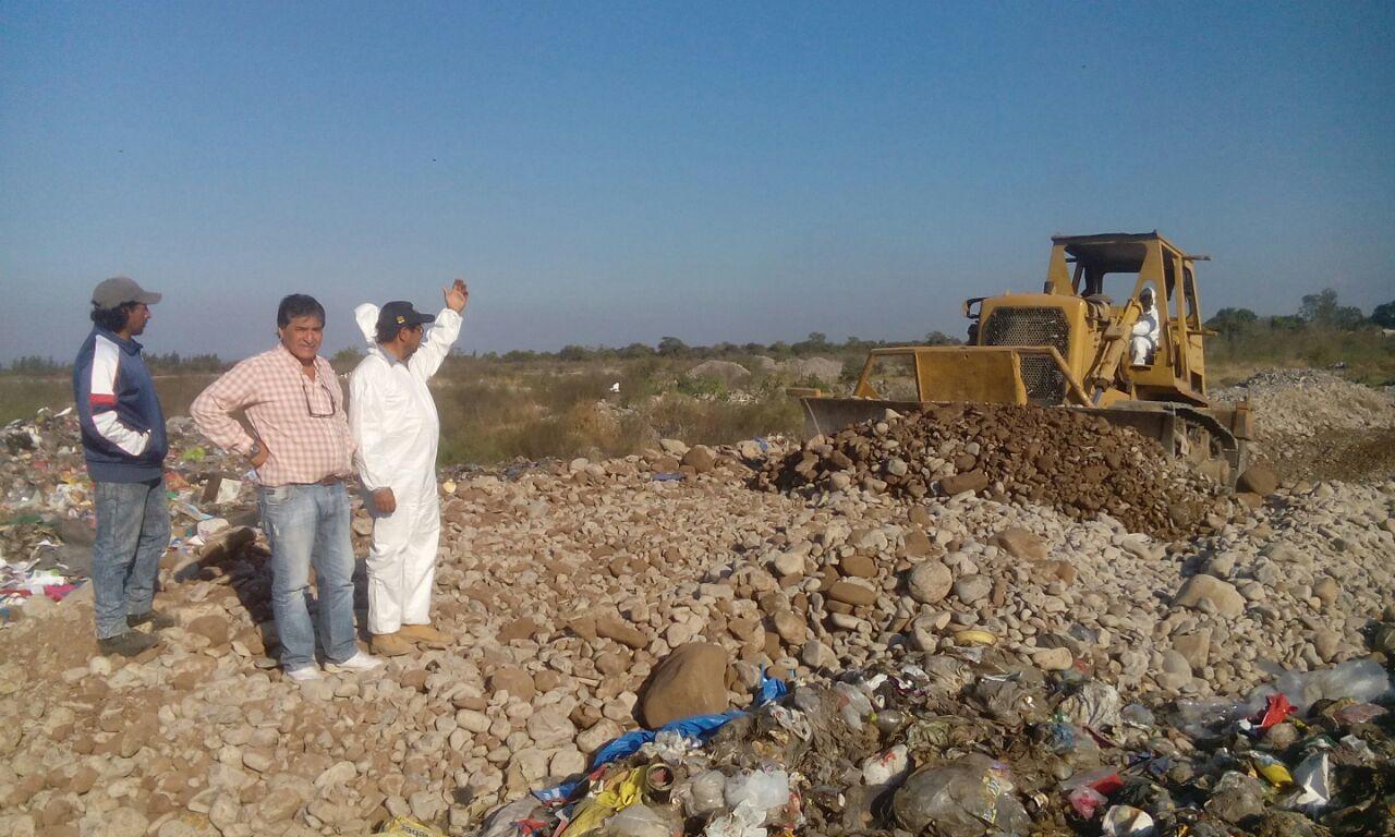 Importantes trabajos en celdas de residuos sólidos urbanos