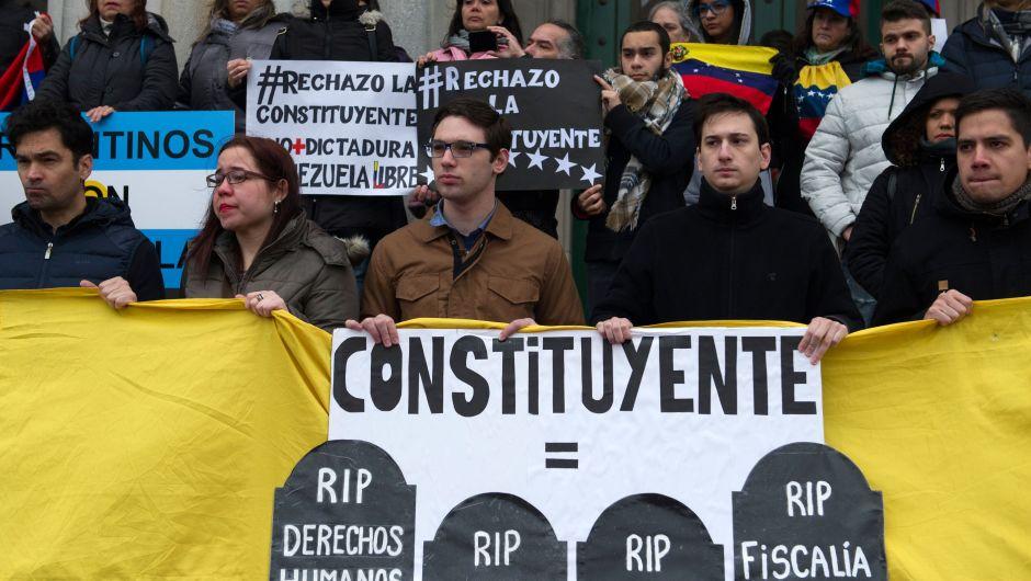 Los países que desconocen la Asamblea Constituyente de Venezuela