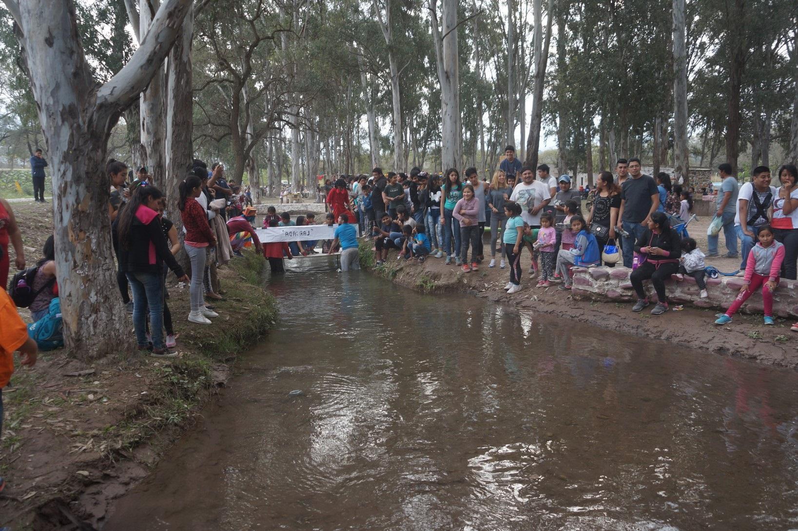 Masiva concurrencia en el cierre de las vacaciones en Jaque