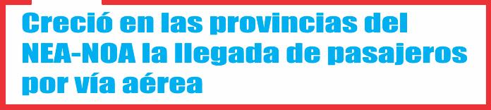 Salta y Misiones lideran en el la región la recepción de visitantes.