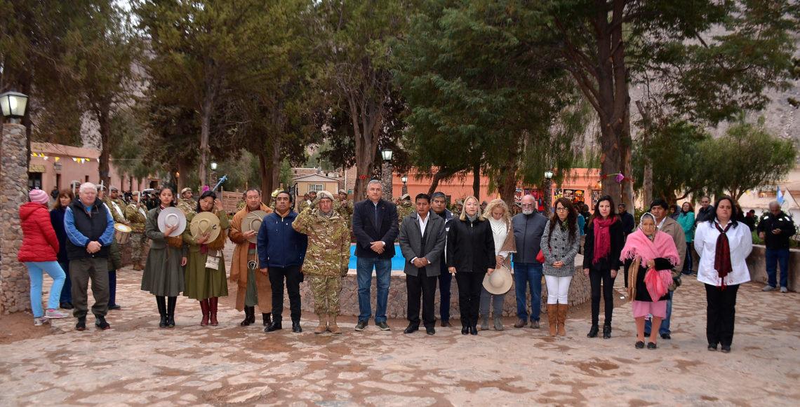 Morales participó de las honras a Santa Rosa de Lima
