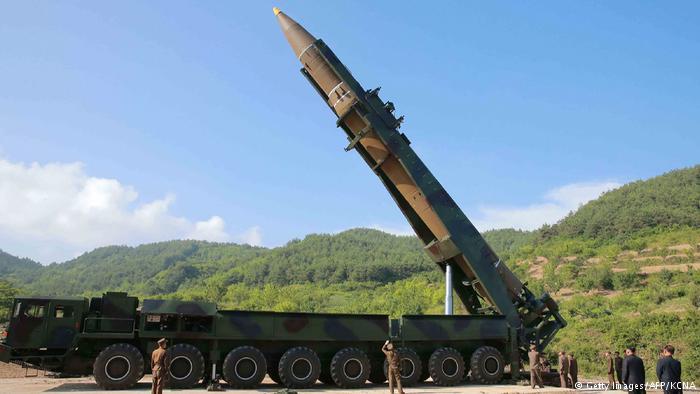 Tecnología rusa para misiles norcoreanos