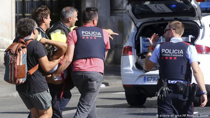 Terrorismo en las ramblas
