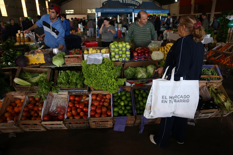 """Lanzamiento oficial del """"mercado en tu barrio"""""""