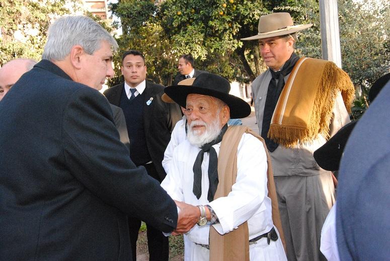 Acto por la conmemoración del 205° Aniversario del Éxodo Jujeño