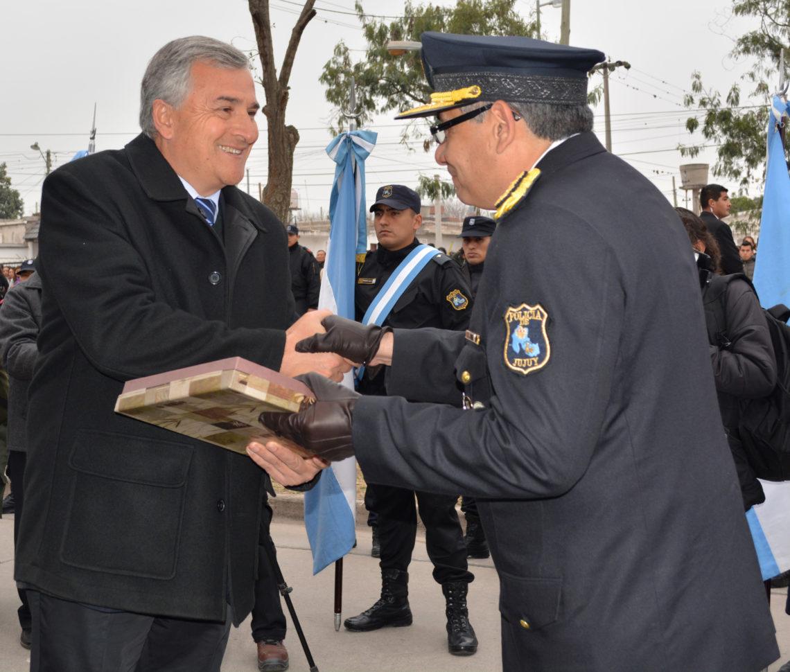 La Policía de Jujuy festejó su 172 Aniversario