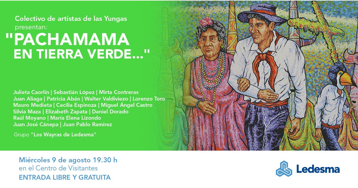 Ledesma honrará a la Pachamama