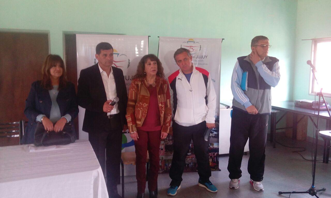 Lanzaron los juegos estudiantiles en Perico