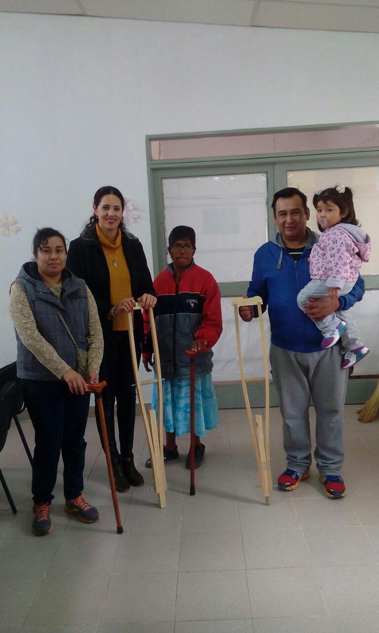 Actividades del Concejo de la Discapacidad en Perico