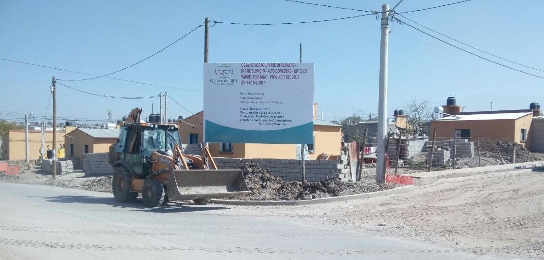 Más infraestructura en toda la provincia
