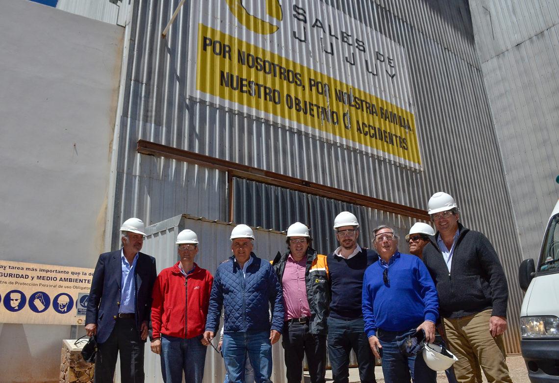 Visita a empresas mineras ubicadas en el salar de Olaroz