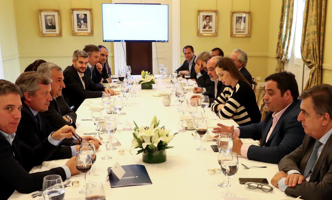 Morales almorzó con Macri en Casa Rosada