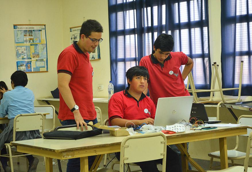 Olimpiadas de Programación y Electrónica