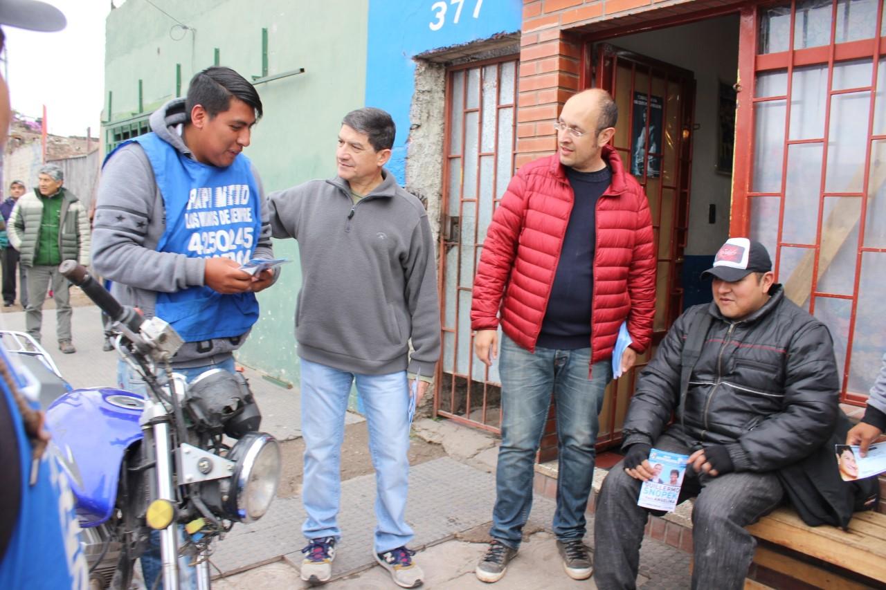 Candidatos a concejales del Frente Justicialista apuestan al equilibro de la ciudad