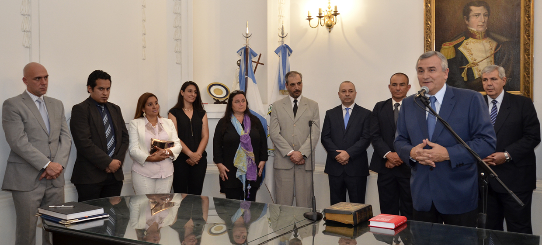 Asumieron nuevas autoridades en el Gobierno de la Provincia