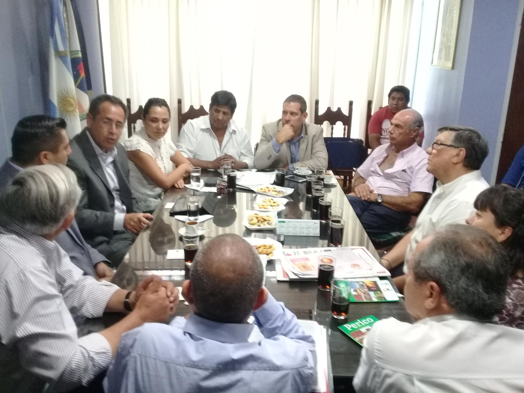 Jujuy organiza la primera exportación a Iquique