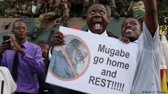 Ahora sí, Mugabe ya es historia