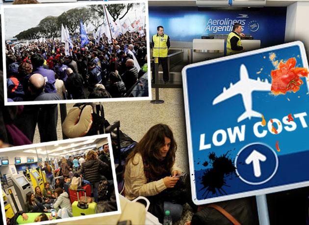 El conflicto en Aerolíneas sigue provocando cancelaciones de vuelos: hay ahora 2.000 pasajeros afectados