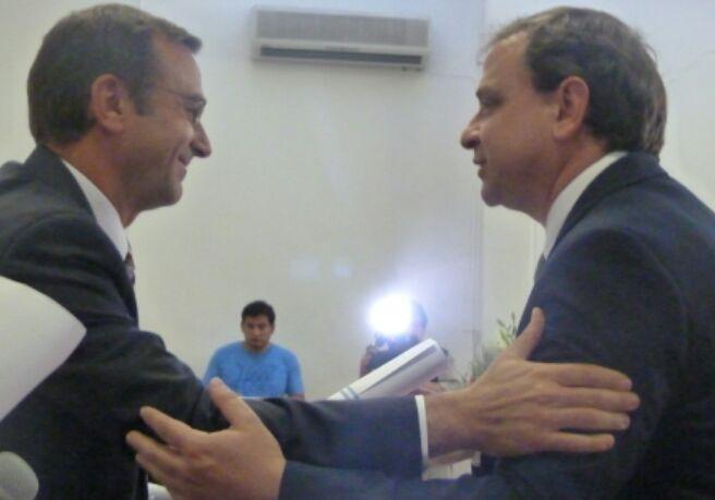 Guillermo Snopek recibió su diploma de Senador electo