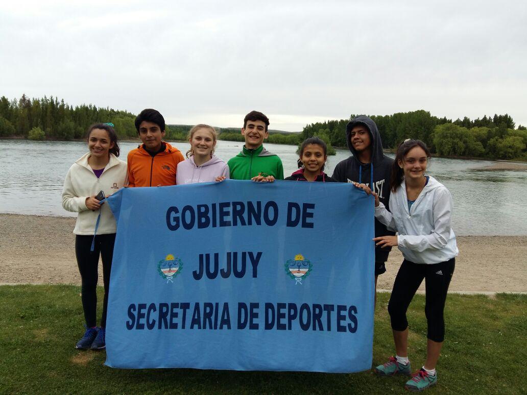 Atletas jujeños en el 19° Campeonato Nacional U-16