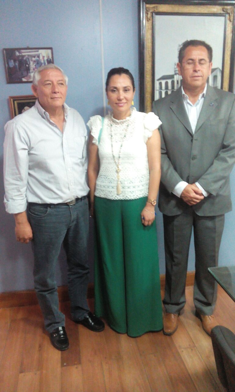 Dos Sub Gerentes de ZOFRI S.A. de Chile en Perico