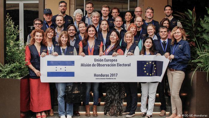 UE apoya petición que exige recuento de votos en Honduras
