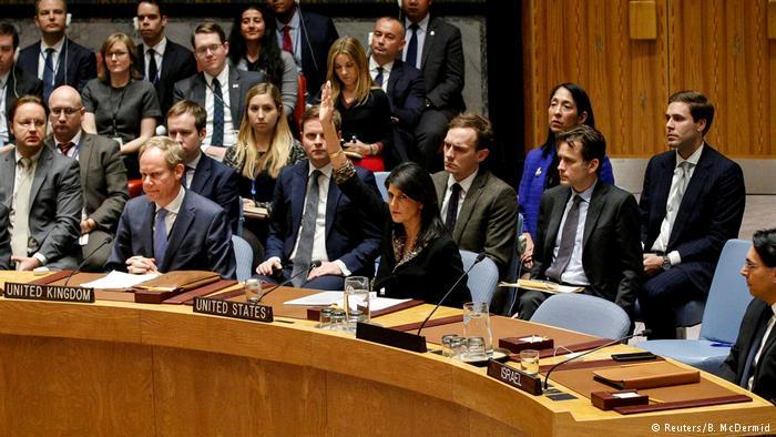 EE.UU. veta resolución de la ONU contra decisión de Trump sobre Jerusalén
