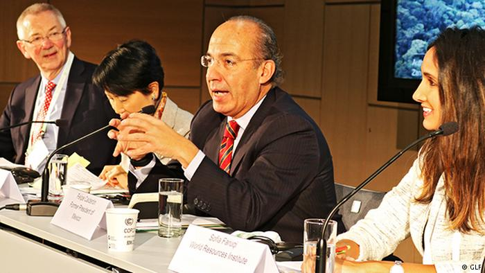 Felipe Calderón: «el mayor desafío en México es el Estado de derecho»