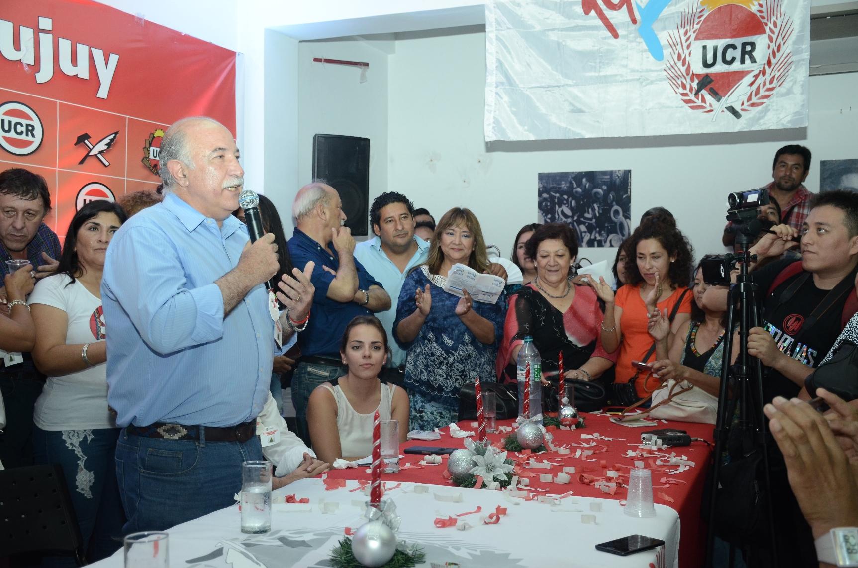 Mario Fiad fué ratificado en la presidencia del Comite Provincia