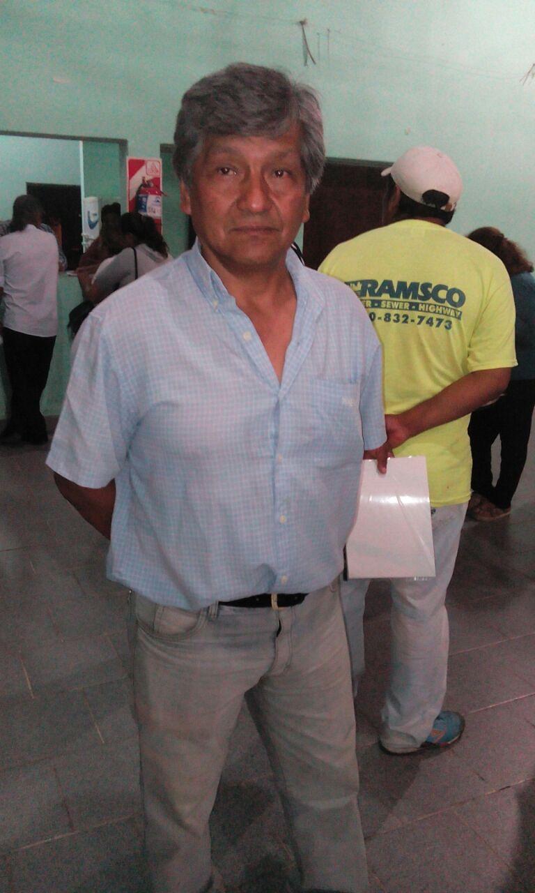 Coordinador de Centros Vecinales de Perico realiza invitación