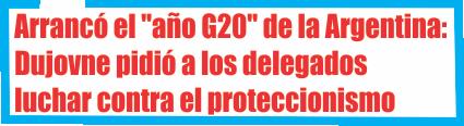 Arrancó el «año G20» de la Argentina: Dujovne pidió a los delegados extranjeros luchar contra el proteccionismo