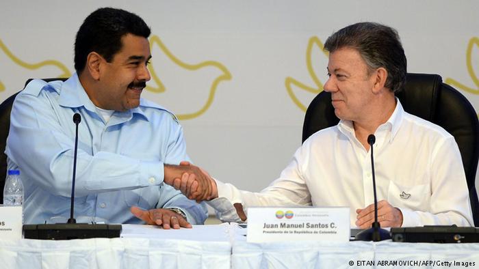 """Santos a Maduro: """"No use a Colombia para tapar fracaso de revolución"""""""