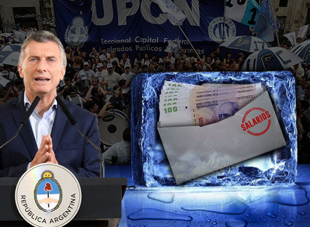 El mensaje entrelíneas del recorte de Macri: se viene la «era del hielo» para los sueldos del sector público