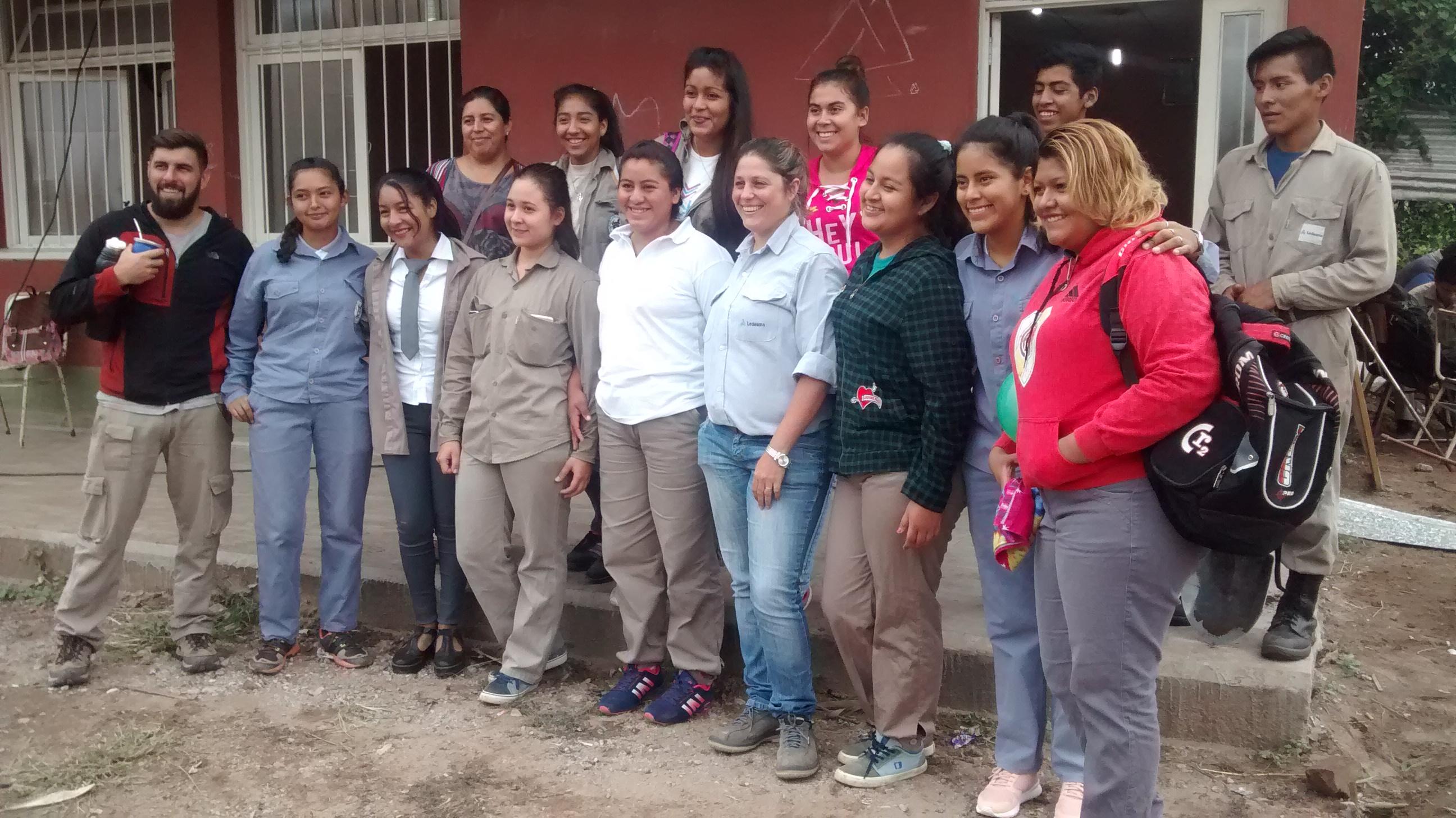 Ledesma capacita en prácticas forestales a jóvenes en Vinalito
