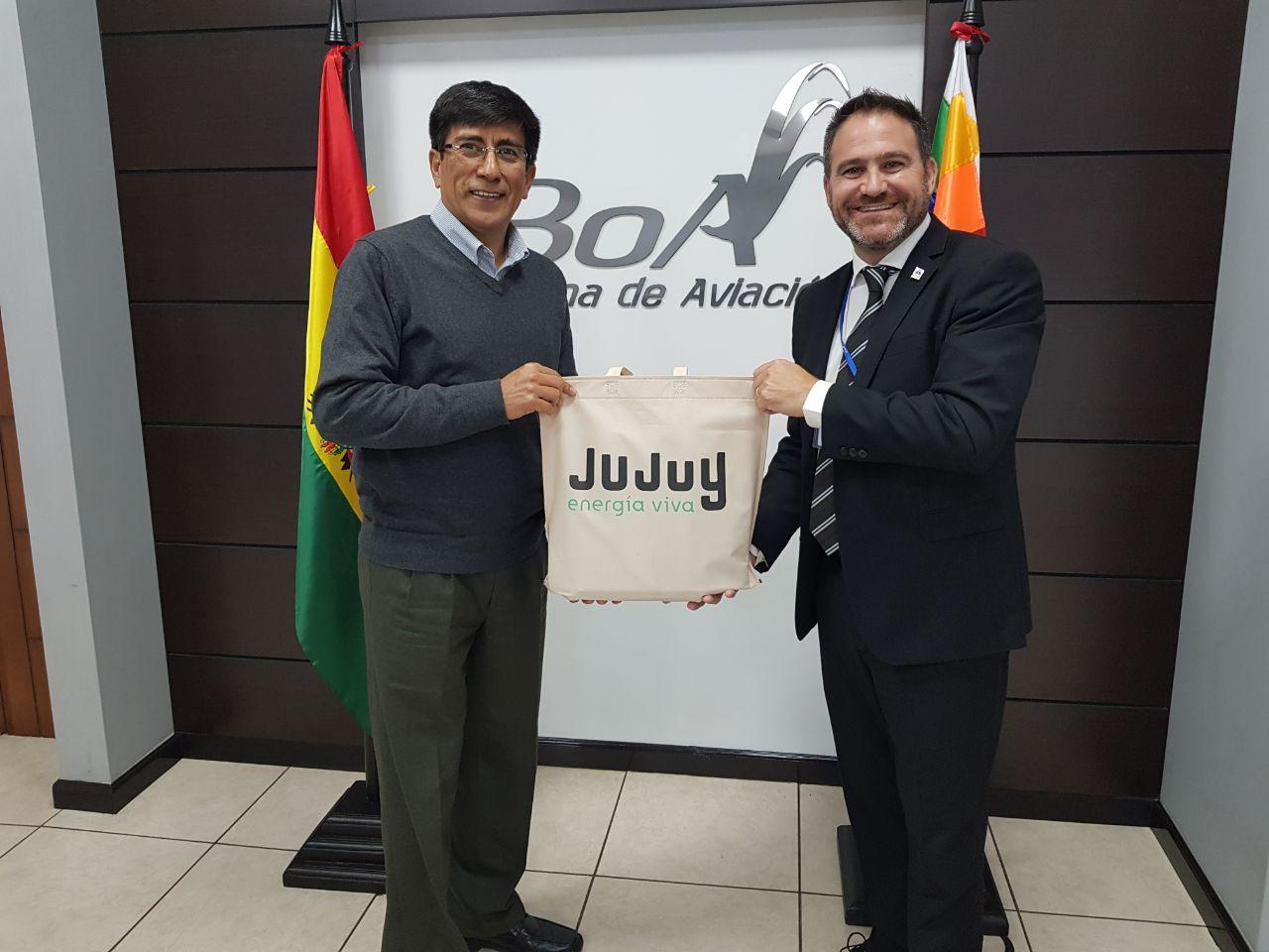 Gestionan más conectividad de Jujuy con el mundo