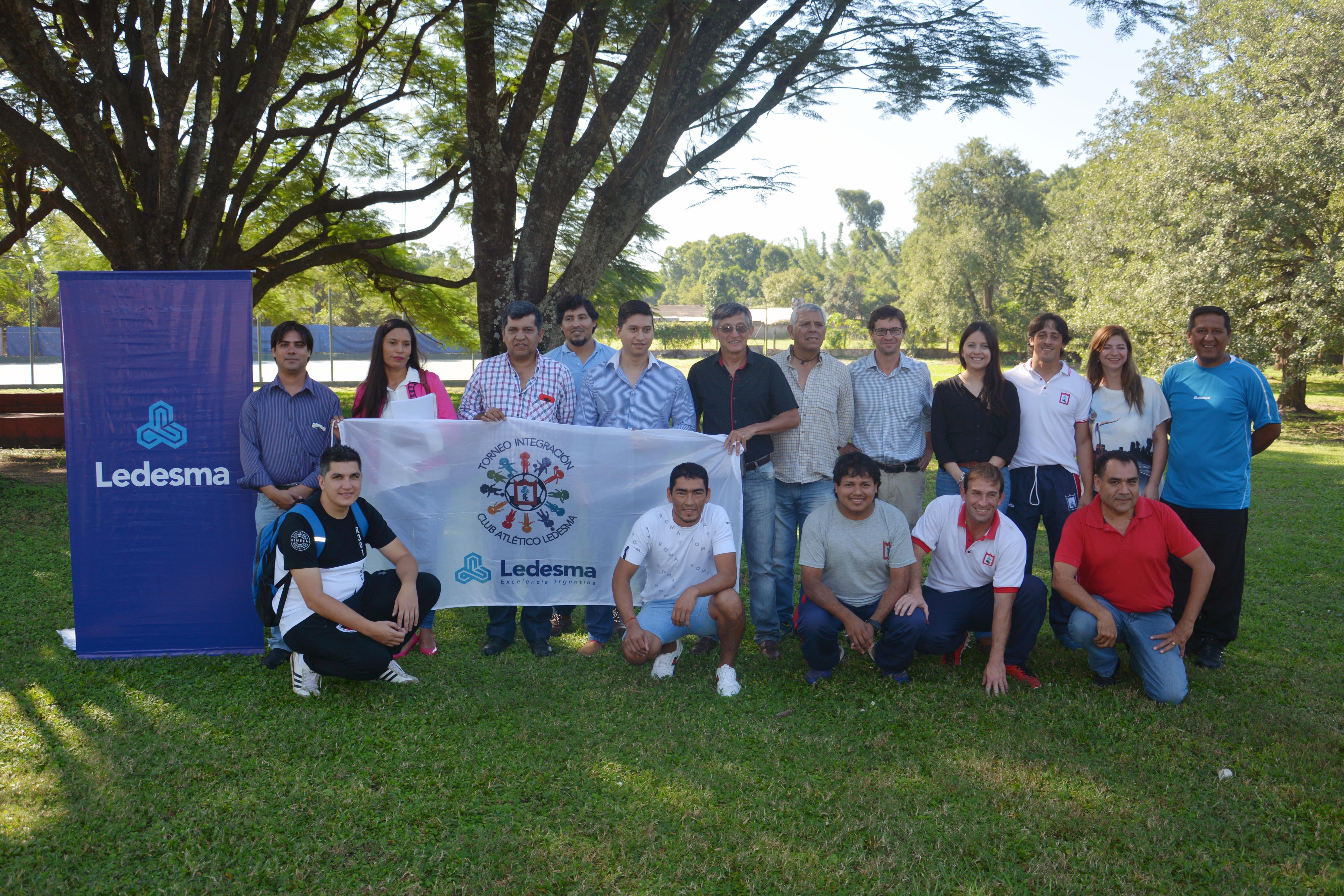 Inicia el campeonato de fútbol infantil de Ledesma