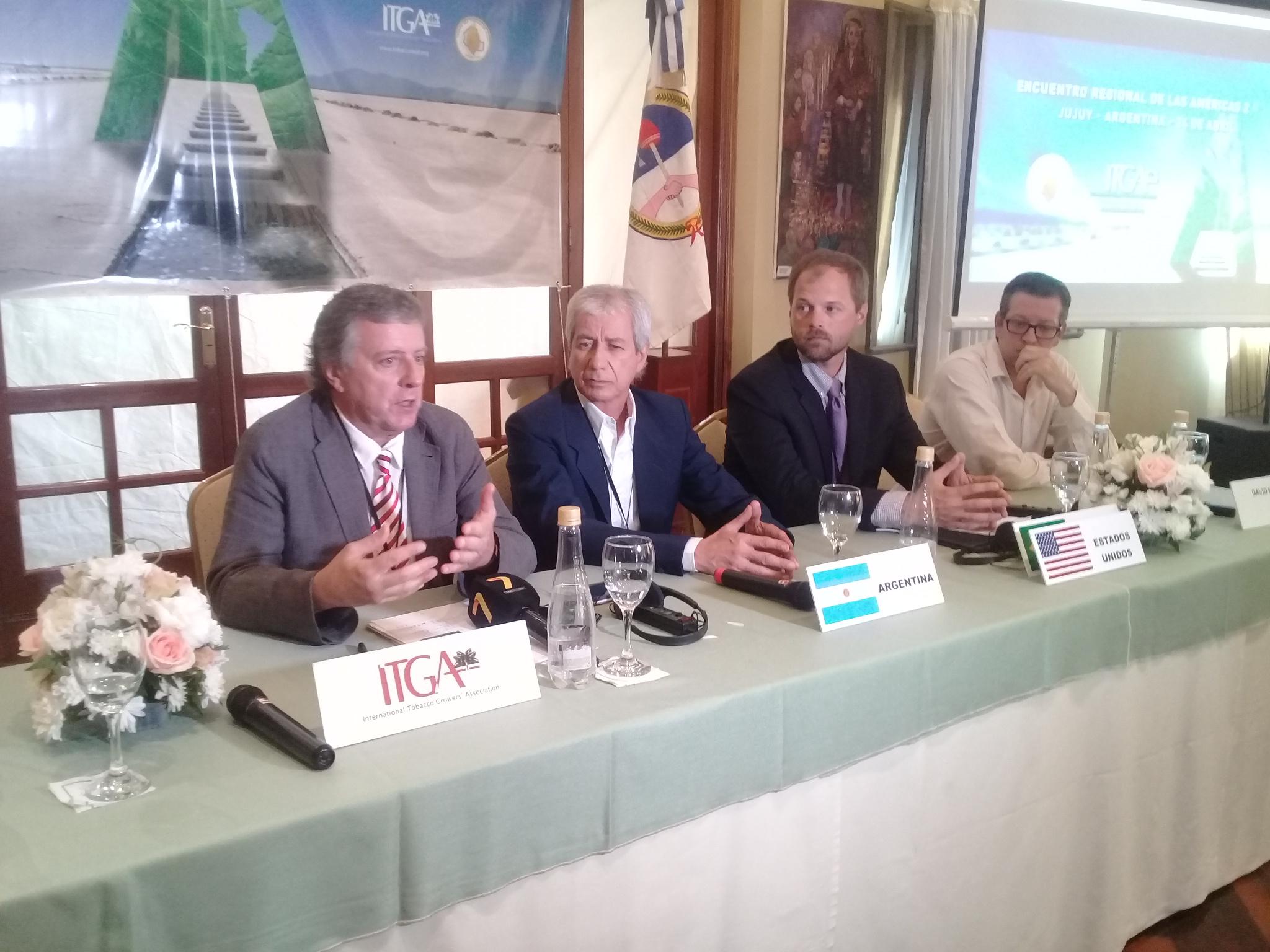 Tabacaleros de América se reunieron en Jujuy para debatir sobre los grandes desafíos que enfrenta el sector