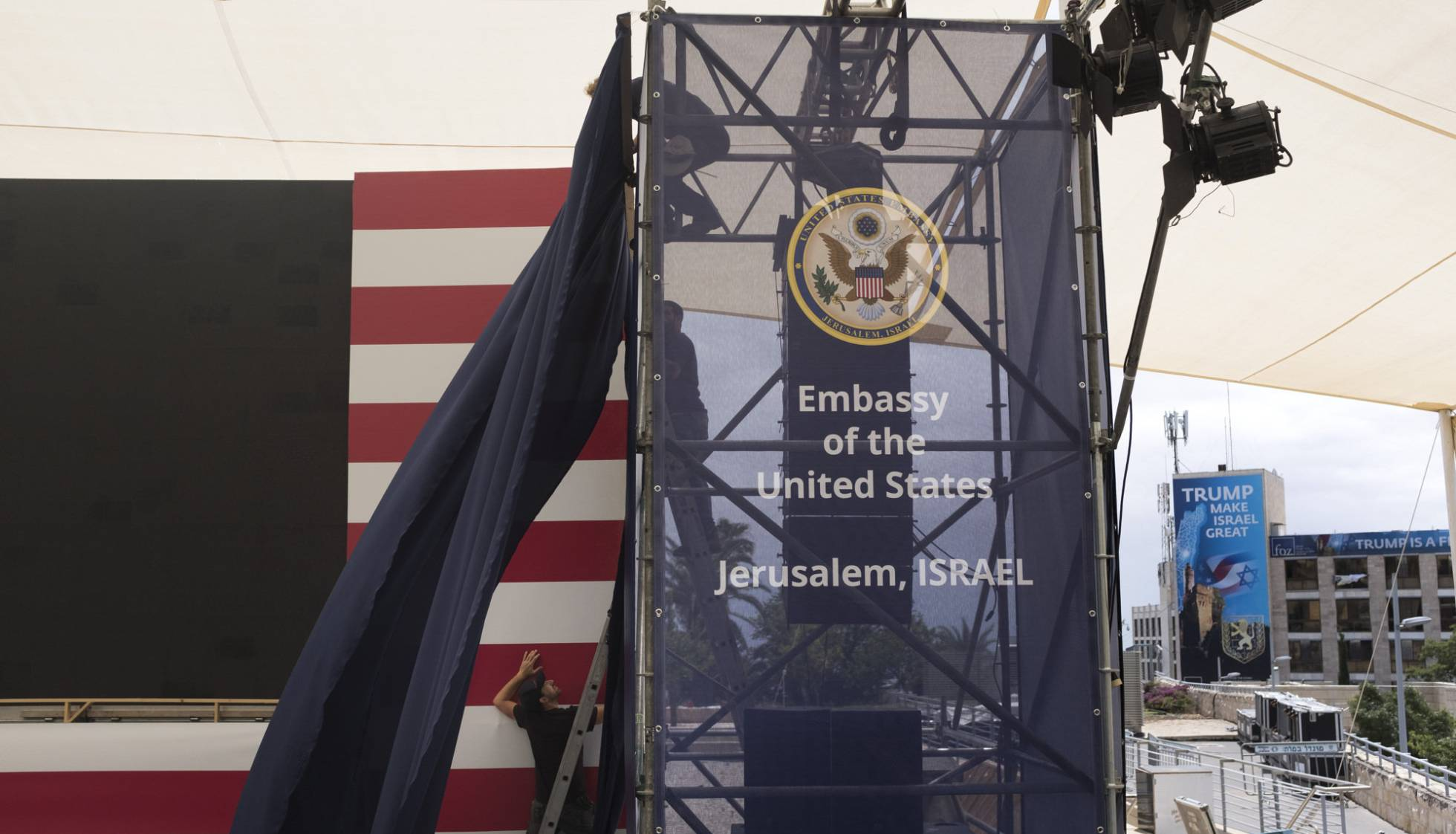 La tensión crece en Jerusalén ante la apertura oficial de la Embajada de EE UU
