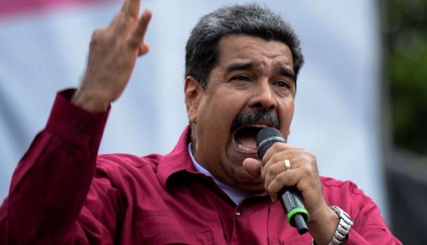 Movilización para denunciar fraudulentas las elecciones en Venezuela