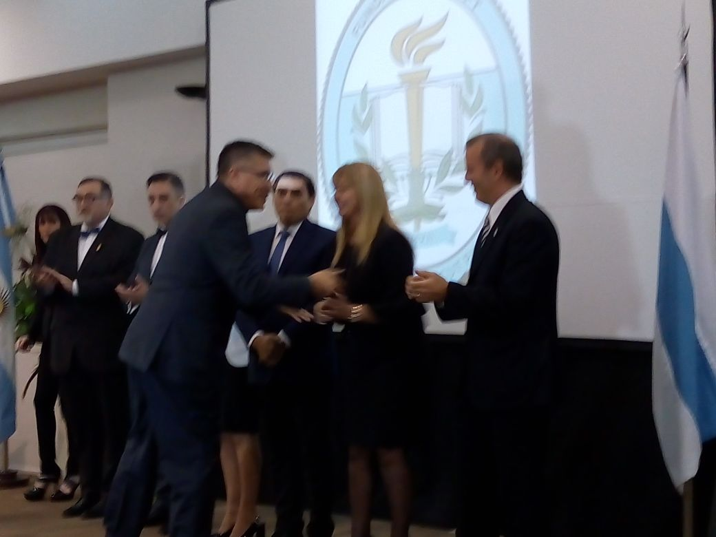 Miguel Tito recibió mención honorífica en Tucumán