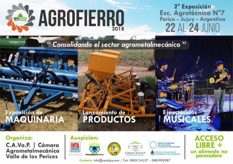 Se lanzó la 2da Edición de AGROFIERRO 2018 en el INTA Perico