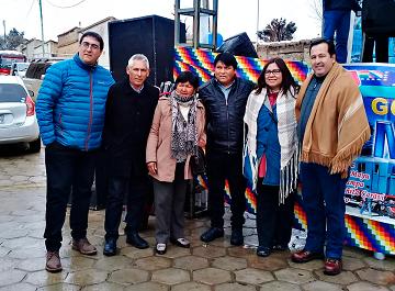 Concreción de corredor turístico en Oruro