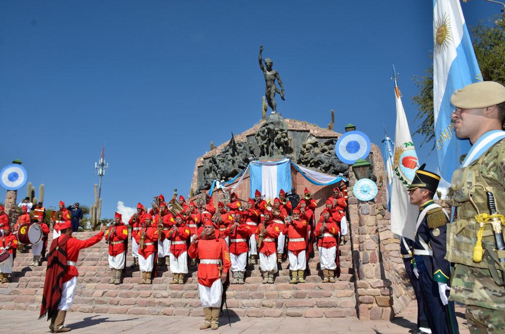 Humahuaca, sede del festejo del 9 de julio