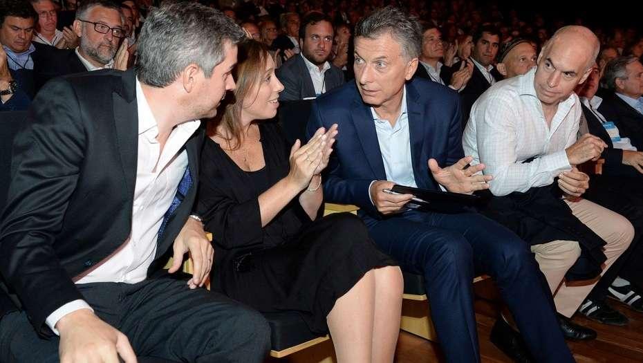 «Por 1ra. vez, Macri y Peña piensan bien distinto que Larreta y Vidal»